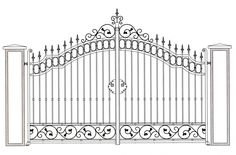 Steel Gate Design, Metal Design, Front Gate Design, Main Gate Design, House Gate Design, Door Gate Design, Fence Design, Wrought Iron Gate Designs, Wrought Iron Stairs