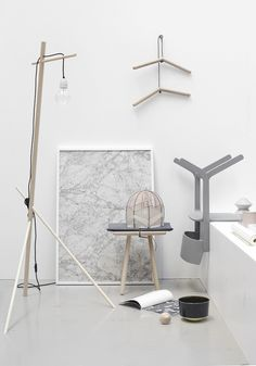Design Trade fair Copenhagen grey and white styling