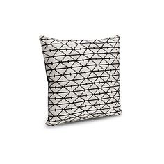 Chrissy Diamond Black & Cream Cushion | Departments | DIY at B&Q