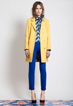 yellow & blue...