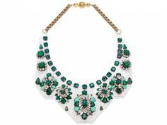 Shourouk perspex necklace at £510