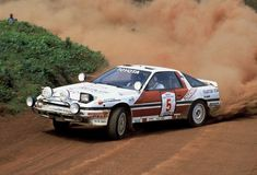 Toyota built a Group A Mk III Supra and ran it in the toughest World Rally Championship event on the planet! Here is the car's very much forgotten story. Toyota Cars, Toyota Celica, Toyota Corolla, Autos Rally, Sport Cars, Race Cars, Toyota Supra Turbo, Mr2, Turbo Car