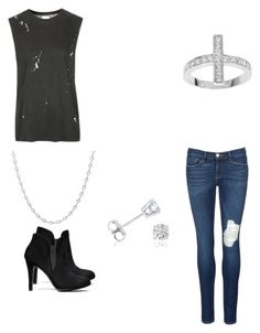 """""""Crystallized"""" by destinyl734 ❤ liked on Polyvore featuring Topshop, Frame Denim, Tressa, Sterling Essentials and Amanda Rose Collection"""