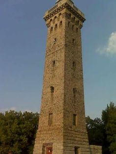 William Penn Memorial Fire Tower.  Reading, PENNSYLVANIA.