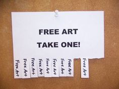 Working for Free   Artsy Shark