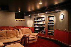 Home Theater Room Design Ideas Unique Homes