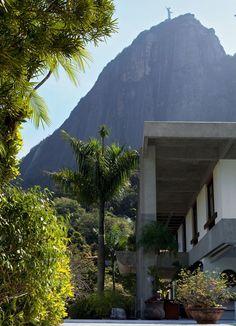 Jardim Botânico, Cristo Redentor view (RJ - Brazil)