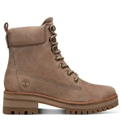 best service a613f ddb88 Courmayeur Valley 6 Inch Boot for Women in Taupe   Timberland Bottines  Lacets, Talons Plats