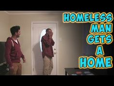 Remember when this guy gave this homeless man a winning lottery ticket? Well they're back with more surprises! - Homeless Man Thinks He's Walking Into Friend's House, But Breaks Down After He Finds Out Whose It Is Learn Magic, Homeless Man, Faith In Humanity Restored, Good People, The Magicians, Helping People, Just In Case, Youtubers, Acting