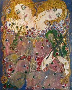 """""""Les muses de la musique"""" by Anne-Marie Zilberman"""