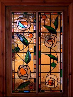 homes stained glass | Jackie Harris Glass: Unique stained glass