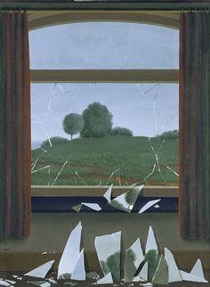 René Magritte - La clef des champs (1936)