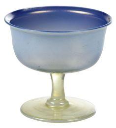 Brunk Auctions Tiffany Glass, Serving Bowls, Glass Art, Auction, Vase, Tableware, Dinnerware, Tablewares, Vases
