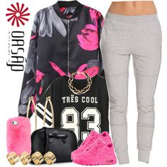 Oasap.6 by nasiaswaggedout on Polyvore featuring polyvore, fashion, style, SELECTED, ASOS, Brooks Brothers and NIKE