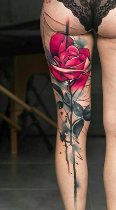 Image Rose tattoo by Uncl Paul Knows in Rose tattoos album Hand Tattoos For Girls, Tattoo Designs For Girls, Tattoos For Guys, Tattoos For Women, Hot Tattoos, Body Art Tattoos, Girl Tattoos, Sleeve Tattoos, Small Tattoos