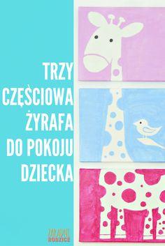 To jest mega urocze!! <3 Jak zrobić trzy częściową żyrafę na ścianę do pokoju dziecka? Szybki i fajny tutorial. <3 <3 Zapraszam :*