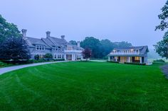 Briar Patch, The Hamptons: $140 million #5 Most expensive house in America. With over 1,100 feet of waterfront on the Georgica Pond, this 10,000 square foot six bedroom georgian revival style home is a steal.  Why? Because you get a 3,500 four bedroom guest house with its own private driveway too.