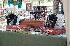 The Salvaged Edge: Display ideas for craft fairs