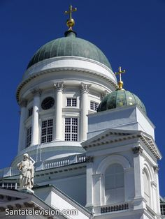 Photo: Helsinki Cathedral (Evangelical Lutheran) in Finland - church Helsinki - famous Finnish church and landmark of Helsinki Places In Europe, Tourist Places, Temples, Finland Country, Visit Helsinki, Regions Of Europe, Lapland Finland, Enjoy Your Vacation, Old Churches