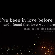 love was more