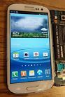 Samsung Galaxy S3 T999 i747 White LCD Assembly- Cracked GlassGood LCD/Digitizer