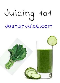 Juicing 101! If you are thinking about juicing to add some healthy options to your diet, but not sure where to begin, keep in mind that it doesn't need be overwhelming or confusing.  In fact, it should be quite the opposite. #justonjuice #juicing ( www.justonjuice.com )