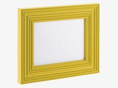 HARVEY 15 x 20cm yellow photo frame