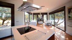 Casa Accueil M Casa moderna 91 m2 Casas modernas interiores Cocinas integradas Casa moderna