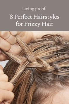 Easy Hairstyles For Long Hair, Pretty Hairstyles, Hat Hairstyles, Medium Hair Styles, Curly Hair Styles, Frizzy Hair, Wavy Hair, Up Girl, Girl Hair