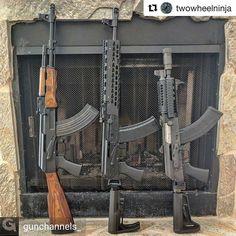 301 отметок «Нравится», 2 комментариев — Run by @Grizzlyhymel (@kalashnikov_hub) в Instagram: «from @gunchannels_ - #Repost @twowheelninja with @repostapp ・・・ My comrades #BlackRiflesMatter…»