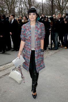 How to get the perfect Chanel look like Lily Allen