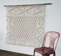 Moder Macrame Wallhanging by RanranDesign on Etsy