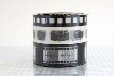 Film Camera Designs METALLIC BLACK Washi Paper Tape - Set of 3 NEW. $9.00, via Etsy...