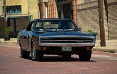 '70 Hemi Charger, midstreet Bartlett, Texas.