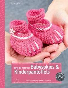 Babysokjes of pantoffeltjes zelf breien is vanaf nu zeer eenvoudig