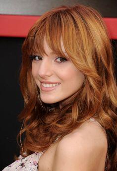 Bella Thorne... love her hair color