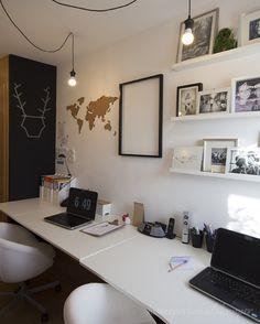 Mi nuevo espacio de trabajo en casa | Decoración