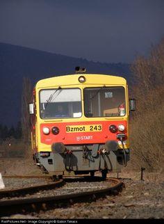Net Photo: MAV 76 Hungarian State Railways (MÁV) Bzmot 243 at Diósjenõ, Hungary by Gabor,Takacs Hungary, Train, Vehicles, Car, Strollers, Vehicle, Tools