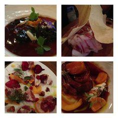 Paris: dinr @ Frenchie's Wine Bar was Gr8! Foie gras w meaty aspic,lardo w crackers,raw bonito w currants,lamb belly