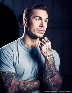 #inked #inkedguys #tattoo #tattoos #men #inkedmag Alex Minsky