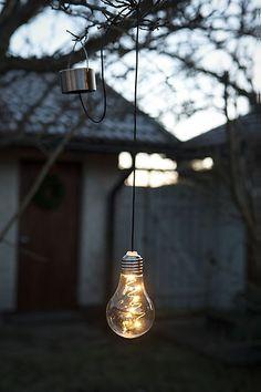 36-6176 Hängande lampa med solcell