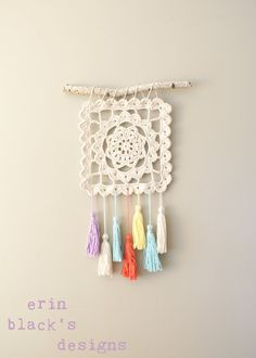 crochet granny decor
