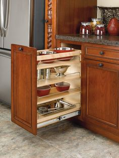 "Rev-a-Shelf 11"" Base Organizer with Adjustable Shelves for 15"" Full Height Base Cabinet"