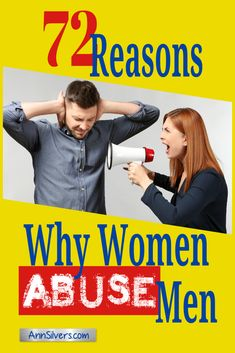 Men get abused too! Are you abusing a man and not realizing it's abuse? Are you a battered man? Know someone you think may be an abusive woman or abused man? Learn about 72 reasons why women abuse men. Unhappy Marriage Quotes, Abusive Relationship Quotes, Toxic Relationships, Relationship Advice, Emotional Abuse, Domestic Violence Quotes, Men Quotes, Quotable Quotes