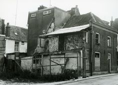 Bitterstraat noordzijde bij de Korte Smeden.