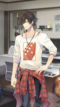 Hyoudou Issei enters the prestigious Kuoh academy for young ladies who, due to a ch Cool Anime Guys, Handsome Anime Guys, Hot Anime Boy, Anime Art Girl, Anime Love, Fanarts Anime, Anime Characters, Anime Kunst, Animes Wallpapers