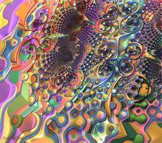 Untitled 3d fractal art Mandelbulb3d Paul Griffitts frackxion.com