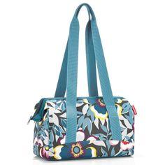 Reisenthel allrounder s, travelling bag, purse, flower pattern, Online Shopping Quotes, Sacramento California, Shop Icon, Diaper Bag, Gym Bag, Logo Design, Tote Bag, Pattern, Bags