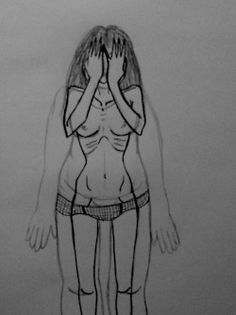eating disorder drawings tumblr - Google Search