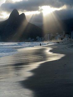 Arte Maritacas - Belezas do Rio  Praia de Ipanema